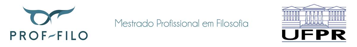 Mestrado Profissional em Filosofia: PROF-FILO